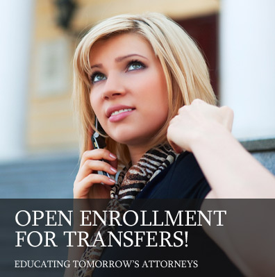 Open Enrollment for Transfer Students -Apply Now!