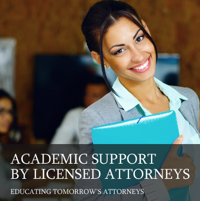 Academic Support By Licensed Attorneys